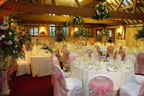Wedding chair covers by amicio at an Essex wedding venue near Chelmsford