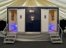 Luxury Mobile Toilet Hire for Weddings, Parties and Corporate Events