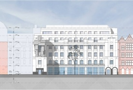 Beaumont Hotel Mayfair London Artist Impression