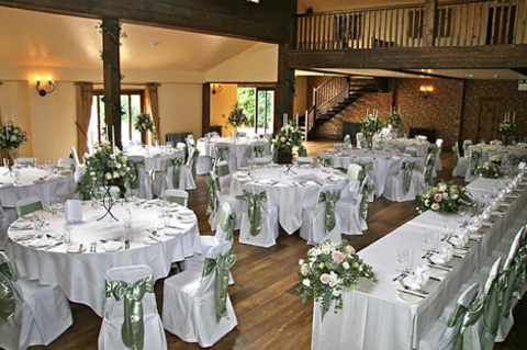 Essex wedding open day at the White Hart, Great Yeldham with Essex Wedding Toastmaster Richard Palmer