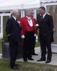 Essex Toastmaster and Chauffeurs at the ssex County Council Chairman's Annual Reception at Boreham House