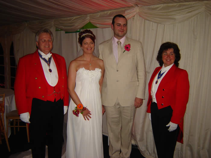 Essex wedding toastmasters in Oxfordshire