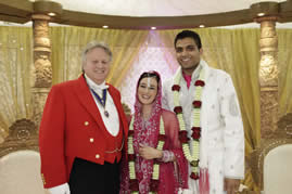Hindu Wedding Toastmaster at Boreham House, Chelmsford, Essex