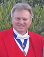 Toastmaster Richard Palmer