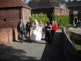 Headingham Castle Wedding Toastmaster
