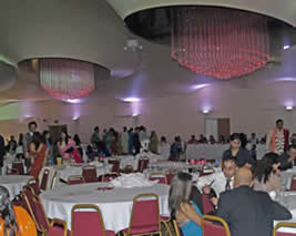 City Pavillion at Collier Row, near Romford in Essex for a Hindu Weddding where I was the toastmaster