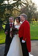 Richard Palmer Toastmaster at a wedding at the Fennes Estate in Essex