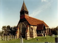 Beautiful Church at Creaksea, Essex where I attended as the wedding day toastmaster
