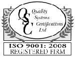 Quality Management System to the ISO9001:2008 Standard